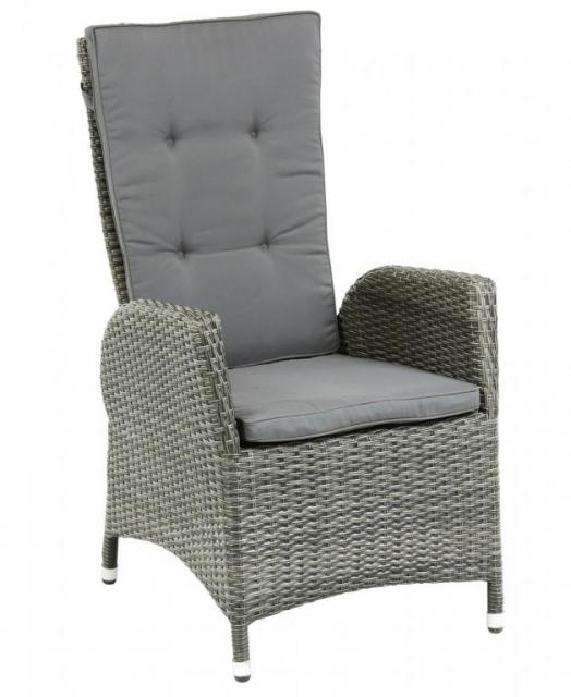 Плетеное кресло из ротанга с откидывающейся спинкой Menorca