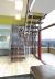 Комбинированная лестница на металлокаркасе на второй этаж 2760-06