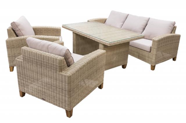 Комплект плетеной мебели из ротанга Minerva