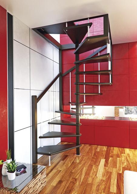 Деревянная лестница на второй этаж 2700-10