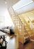 Деревянная лестница на второй этаж 2676-2900-12