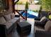 Комплект садовой мебели из ротанга Brown