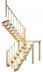 Деревянная лестница на второй этаж 3120-2925-62