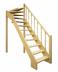 Деревянная лестница на второй этаж 2900-2677-715