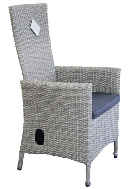 Плетеное кресло из ротанга с откидывающейся спинкой Capri 2