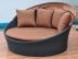 Круглый садовый диван-шезлонг Cooper Shell