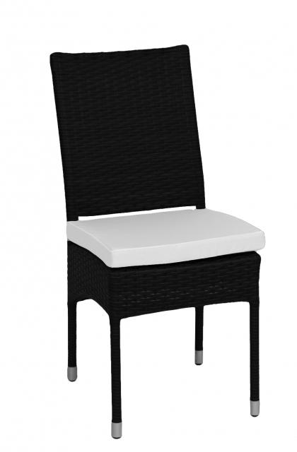 Стул из ротанга с подушками Black&White (54 расцветки)