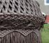 Подвесное кресло-качели Cartagena бежево-коричневое