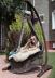 Подвесное кресло-качели на подставке Light Brown