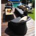 Садовая мебель для отдыха Lounge Black Set 5