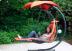 Подвесные садовые качели-шезлонг Orange