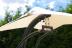Подвесные садовые качели-шезлонг для двоих Beige