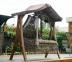 Подвесные плетеные качели-диван Set 2