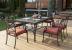 Комплект садовой мебели из алюминия Black Set 6