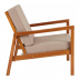 Комплект садовой мебели из дерева Eucalyptus Lounge Set 4