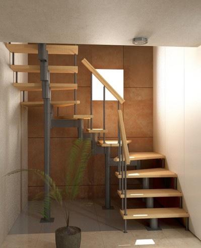 Лестница Спринт с поворотом 180° 1800-3375