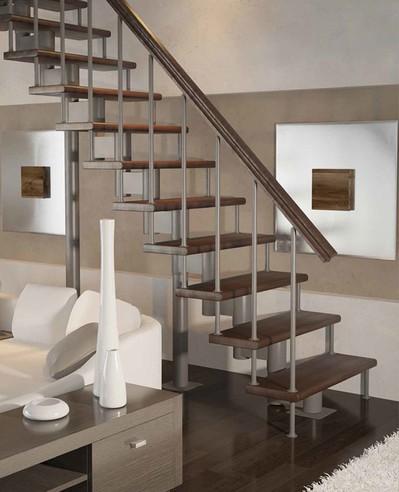 Лестница Статус с поворотом 90° 2025-3575