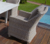 Кресло из ротанга с подушкой Beige