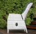 Кресло садовое с откидывающейся спинкой LightBeige
